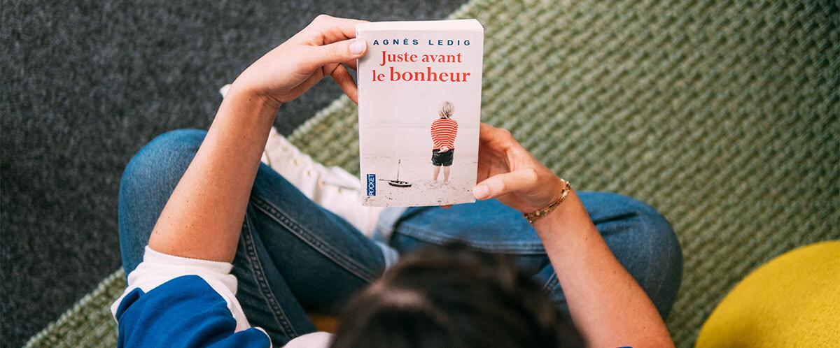 couverture livre Juste avant le bonheur
