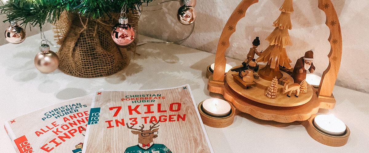 Rezension des Buches 7 Kilo in 3 Tagen: Über Weihnachten nach Hause
