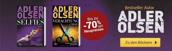Adler Olsen - Zu den Büchern