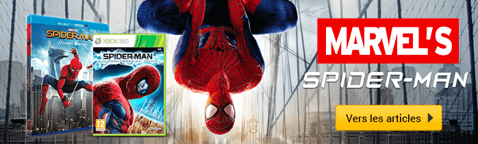 Spiderman - Vers les articles