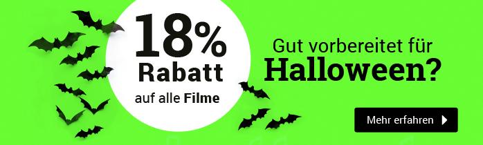 18% Rabatt auf alle Filme - Zur Aktion